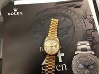 Rolex... Cartier... Hublot... AP Wanted!!