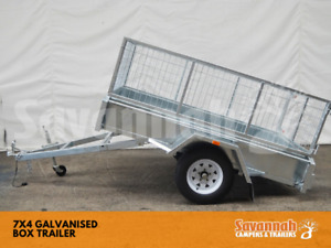 7x4 Galvanised Box Trailers Edmonton Cairns City Preview