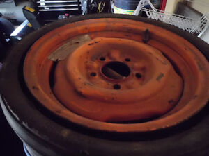 Space saver tire for Javelin or AMX