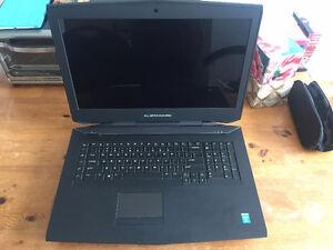 Alienware laptop dual 780M