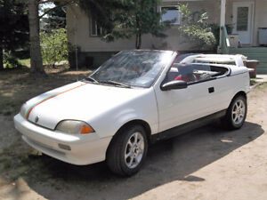 1993 Pontiac Firefly Convertible (REDUCED)