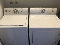 Maytag washer and dryer set 800$