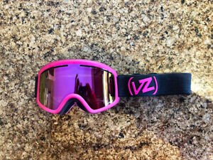 VonZipper Mindglo LE Goggles with Pink Chrome Lens
