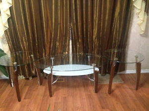 Glass coffee tables. Only Call or text