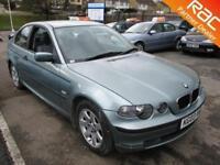 2003 BMW 3 Compact 318 Compact 2.0i 143 SE Auto5 Petrol green Automatic