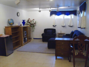 Beautiful Furnished Suite avail. July