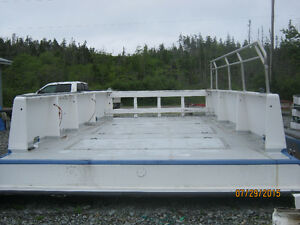 "Deck for 38ft 6"" Dave MacDonald Fishing Boat"