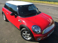 MINI ONE 1.4 £22 WEEK 1 OWNER AIR CON CD ALLOYS GREAT 1ST CAR 3 DR HATCH 2007