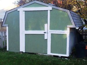 Shed for Storage
