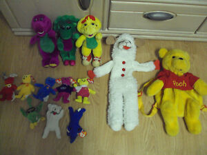 Disney + Barney and Friends - TY's and Stuffed