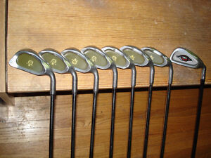Set of excellent quality r/h irons