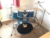 Pearl Export Series Drum Kit - Blue