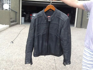 Icon Daytona  mens leather jacket