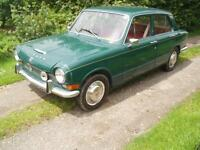 CLASSIC RARE 1967 TRIUMPH 1300 4 DOOR SALOON BARN FIND 46,000 MILES ONLY