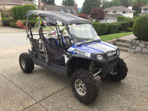 PARTING OUT 2010 Polaris RZR 4 800 Robby Gordon PARTS ONLY