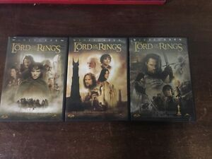 Lord of Rings DVDs