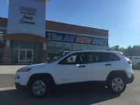 2015 Jeep Cherokee Sport LIKE NEW, LOW KMS ACCIDENT FREE  - Low