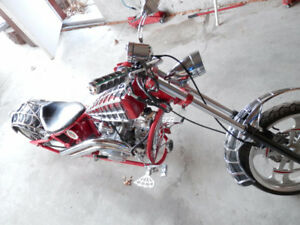 ORANGE COUNTY CHOPPERS-BLACK WIDOW REPLICA