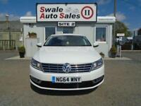 2014 VOLKSWAGEN CC 2.0 GT TDI BLUEMOTION TECHNOLOGY - 62,441 MILES -£30 ROAD TAX
