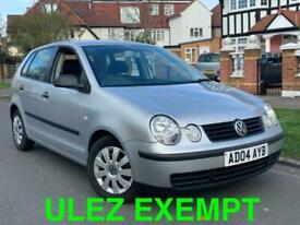 image for 2004/04 REG VOLKSWAGEN POLO 1.2 5DR ** FULL SERVICE HISTORY + LOW MILES **