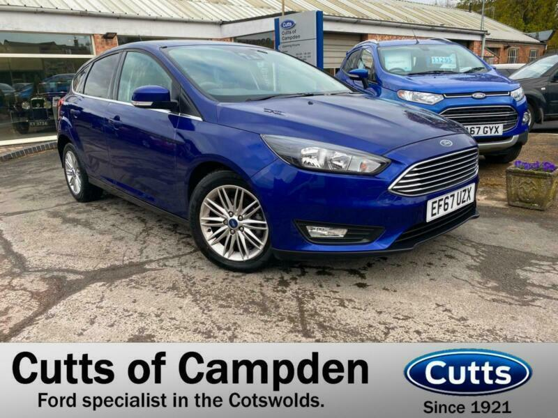 2017 Ford Focus 1.0T EcoBoost Zetec Edition Automatic (125ps) HATCHBACK Petrol A