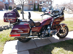 For sale a butifull 1985 interstate goldwing