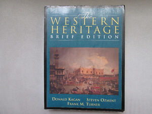 The Western Heritage Brief Edition by Donald Kagan Steven Ozment West Island Greater Montréal image 1