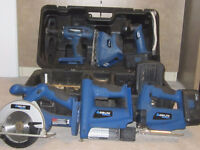 Delta ShopMaster Cordless power tool set