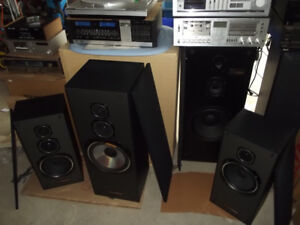 Vintage Speakers stereos Turntables Vinyl records and more