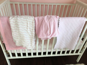 Nursery--Girl's--Crib Bedding