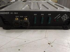 Kicker KX700.5 Amplifier Prince George British Columbia image 4