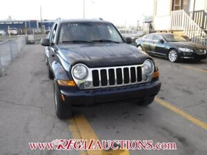 2006 JEEP LIBERTY LIMITED 4D UTILITY LIMITED