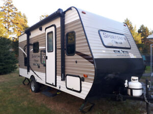 2018 Sportsman Classic 181BH (Used once!)