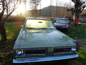 1968 2 door Valiant Signet