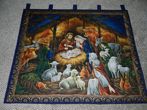 New Navy Nativity Wall Hanging St. John's Newfoundland image 1