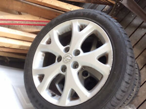 205/50Z R17 *Like New* Tires and Alloy Rims - MAZDA **REDUCED**
