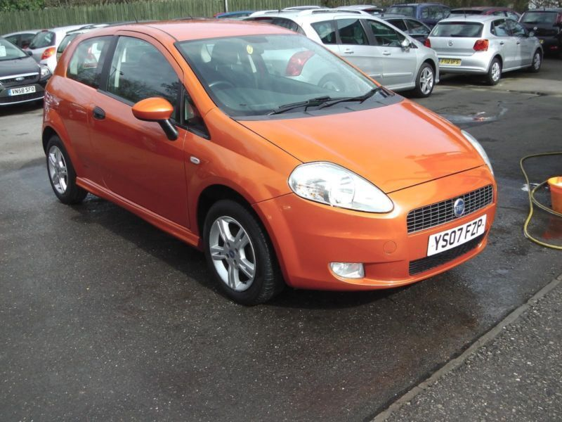 2007 fiat grande punto active sport met orange hatchback petrol in saltford bristol gumtree. Black Bedroom Furniture Sets. Home Design Ideas