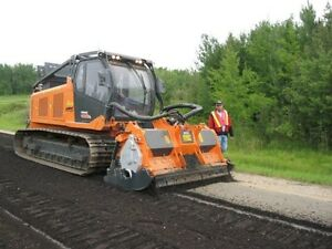 PrimeTech self-propelled, tracked mulchers from 160 to 600 HP Edmonton Edmonton Area image 5
