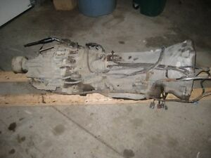 XTERRA TRANSMISSION AND TRANSFER CASE