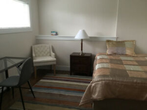 Furnished room for  rent . MSVU  area.