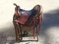 Western Saddle mint condition