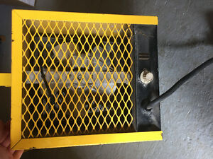 Construction heater 4800w
