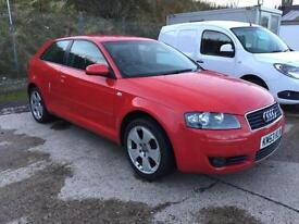 Audi A3 1.6 2004MY Sport New MOT