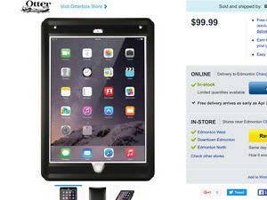 iPAD AİR 2 OTTER BOX FOR SALE