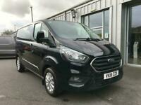 Ford Transit Custom 280 Limited 2.0TDCi 130PS L1H1 in Black + Air Con
