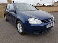 LOW MILEAGE - VOLKSWAGEN GOLF 1.6 FSI Match, 6 SPEED GEARBOX