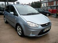 2007 Blue Ford C-MAX 1.6 DIESEL 5 Door MPV