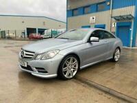 2013 Mercedes-Benz E Class 2.1 E250 CDI BlueEFFICIENCY Sport G-Tronic 2dr Coupe