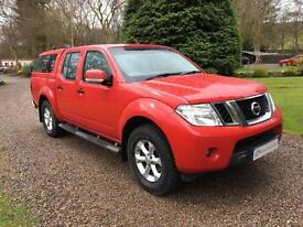 NISSAN NAVARA ACENTA FACELIFT 2011MY DOUBLE CAB PICKUP 2.5DCI BRIGHT RED NO VAT