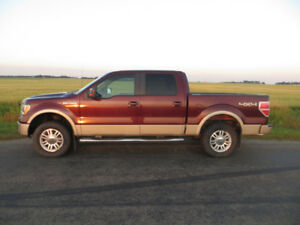 2009 Ford F-150 4x4 Supercrew Lariat